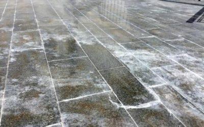 Čištění a impregnace žulové podlahy a kamene