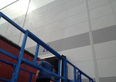 Čištění fasád a opláštění budov 005