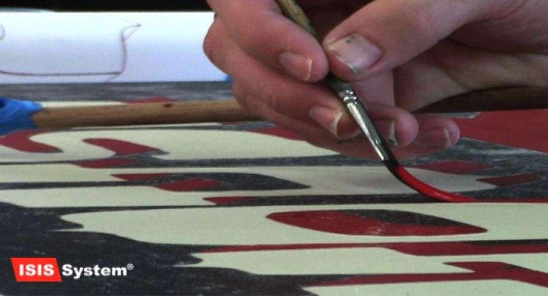 Písmomalířské práce