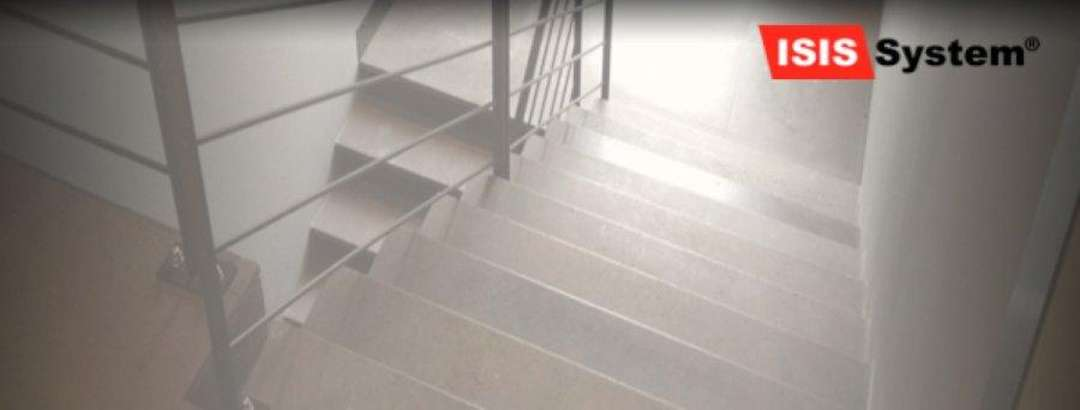 Protiskluzná ochrana schodů