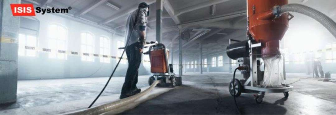 Renovace a broušení betonových podlah