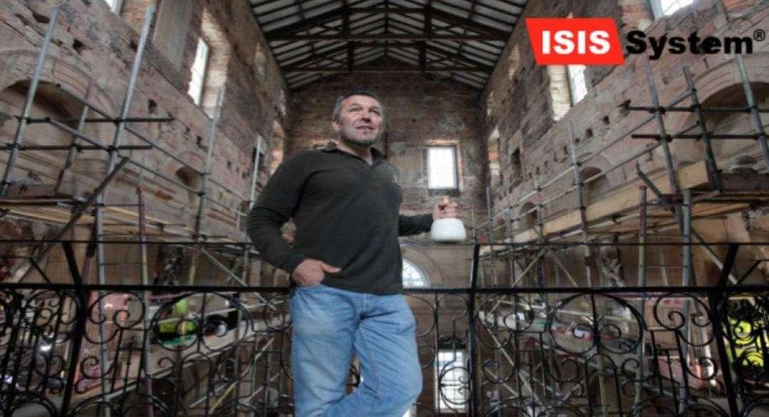 Renovace a broušení kamenných schodů