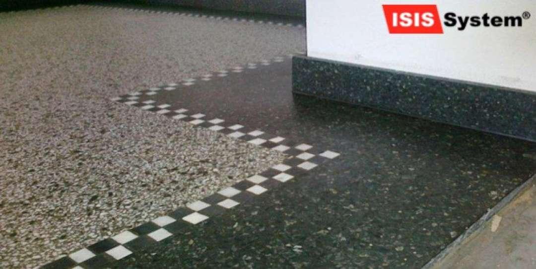 Renovace a broušení terazzo podlah