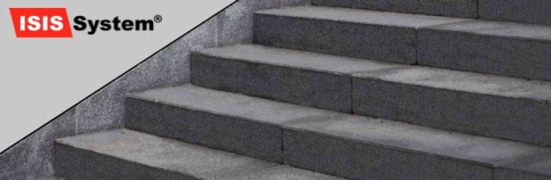 Renovace a čištění betonových schodů