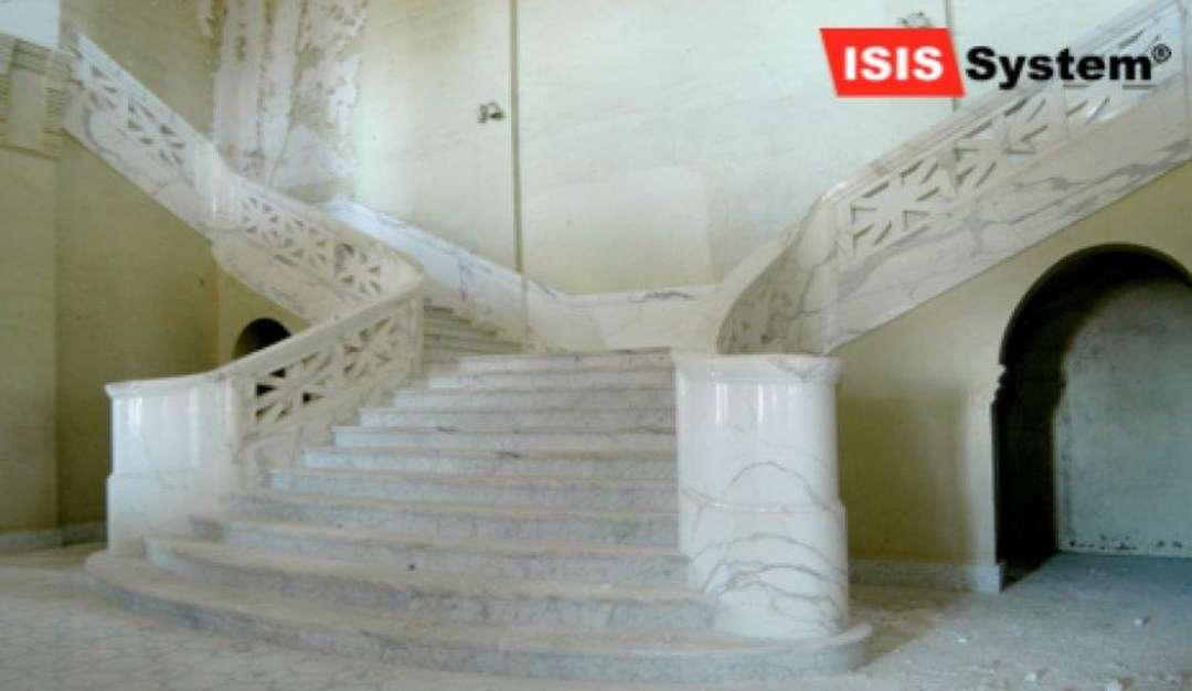 Renovace a čištění mramorových schodů