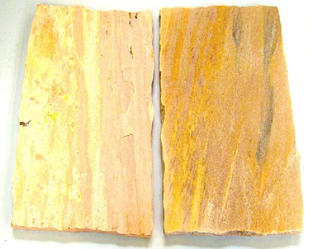 Renovace a čištění pískovcové dlažby
