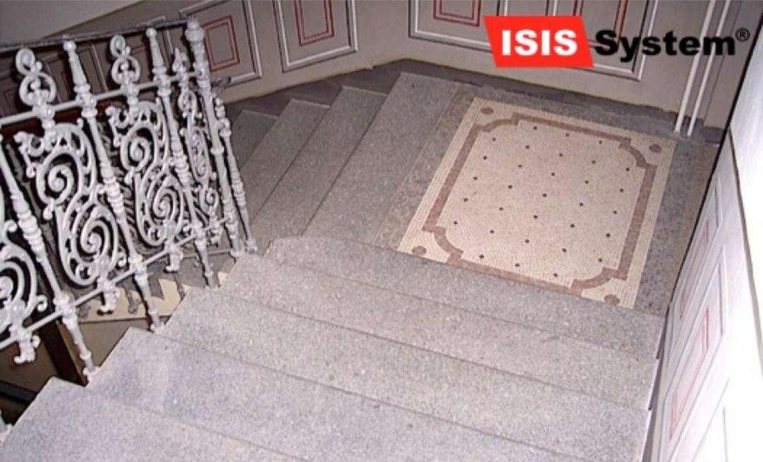 Renovace a čištění teraco schodů