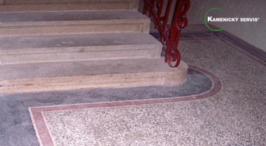 Renovace a leštění teraco a terazzo povrchů