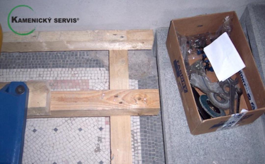 Renovace a leštění teraco