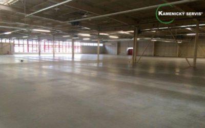 Renovace betonových a průmyslových podlah